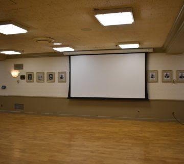 educational audio visual installation