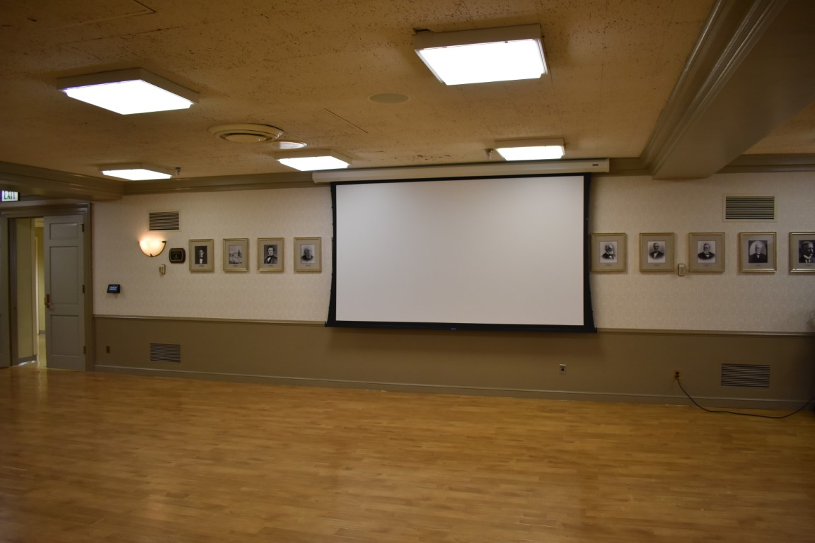 educational audio visual installation